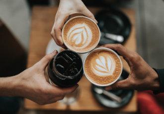 Guck mal wer zum Kaffee kommt